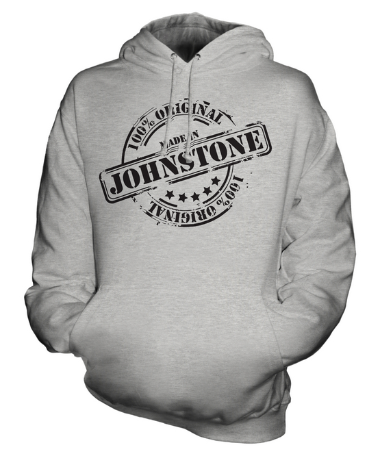 MADE IN JOHNSTONE UNISEX HOODIE  Herren Damenschuhe LADIES GIFT CHRISTMAS BIRTHDAY 50TH