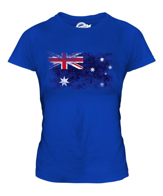 Australian Flag Australia Sydney Fashion Vintage T Shirt Men Women Unisex 1431