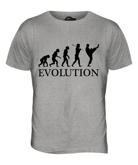 TAEKWONDO EVOLUTION OF MAN MENS T-SHIRT TEE TOP GIFT MARTIAL ARTS  6739d2f5c4f