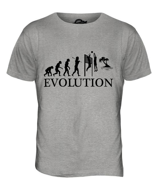 Evolution Beachvolleyball T-Shirt S-XXXL Fun-Shirt
