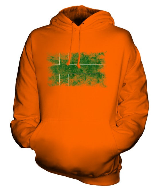 LADONIA DISTRESSED FLAG UNISEX HOODIE TOP FOOTBALL GIFT  CLOTHING JERSEY