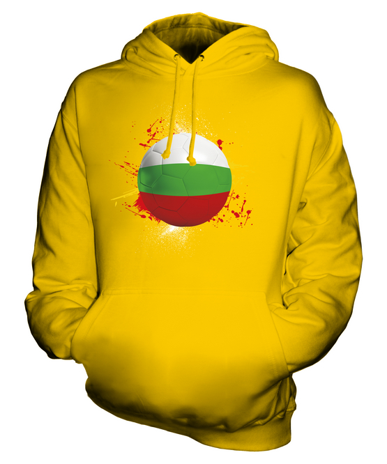 BULGARIA FOOTBALL UNISEX HOODIE TOP GIFT WORLD CUP SPORT
