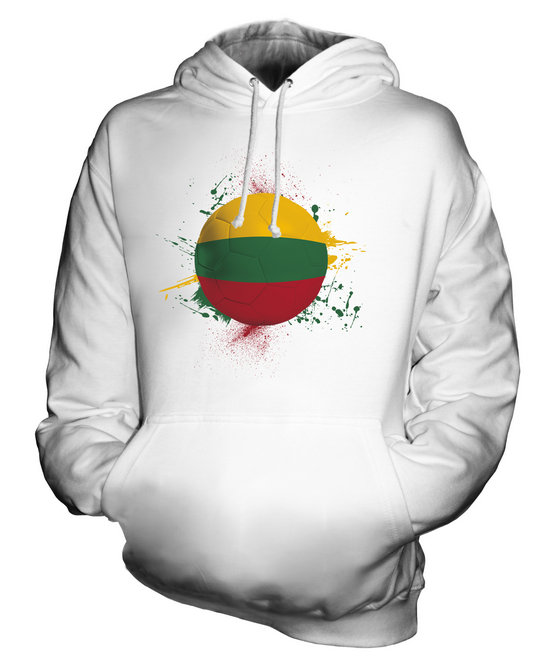 LITHUANIA FOOTBALL UNISEX HOODIE TOP GIFT WORLD CUP SPORT