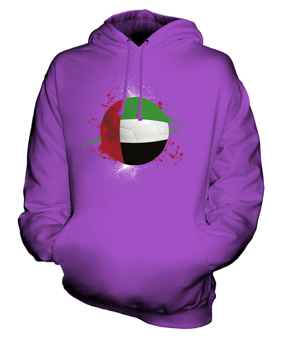 UNITED CUP ARAB EMIRATES FOOTBALL UNISEX HOODIE TOP GIFT WORLD CUP UNITED SPORT 15f7d8