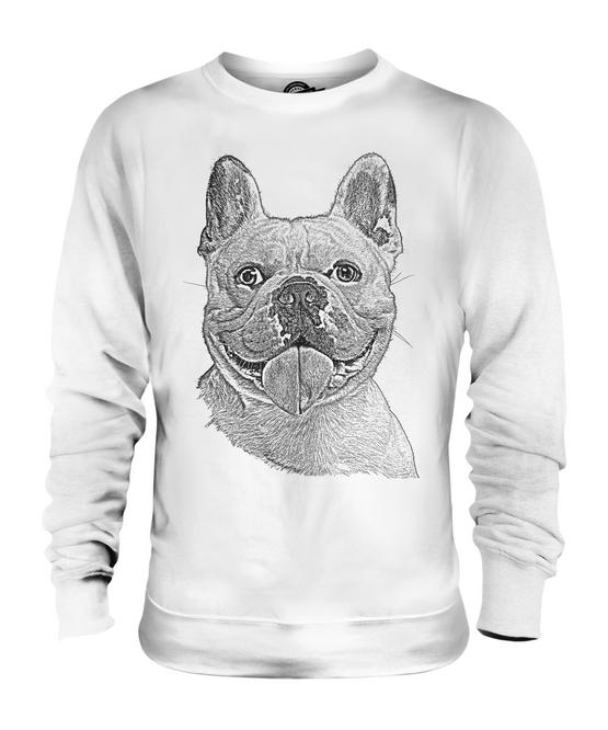 French Bulldog da donna con cappuccio Pullover Hoodie IDEA REGALO francese Bulldog Francese