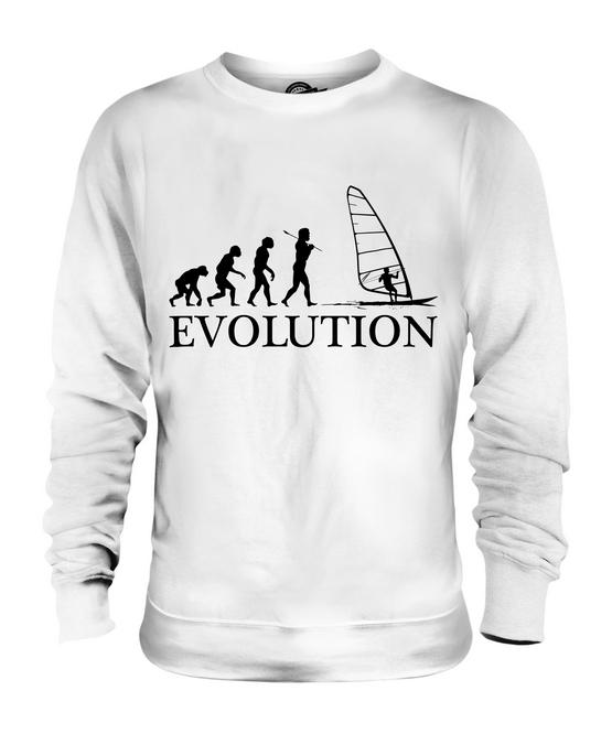 Planche A Voile Evolution De L Homme Unisexe Pull Homme Femme Cadeau Vetement Ebay