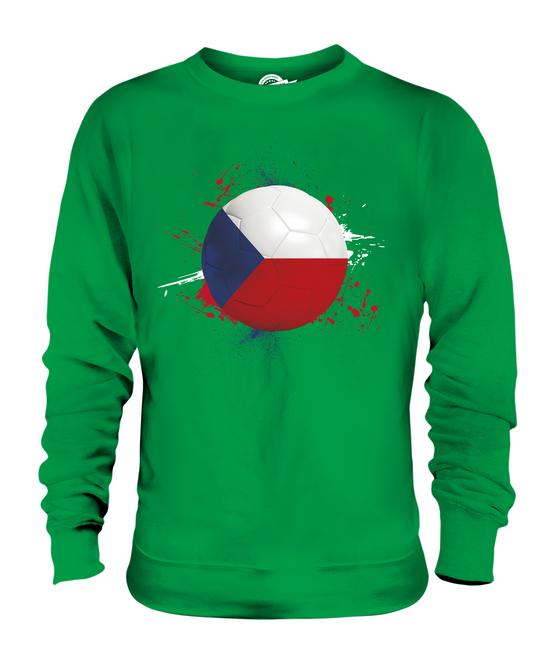 CZECH REPUBLIC FOOTBALL UNISEX SWEATER SWEATER SWEATER  TOP GIFT WORLD CUP SPORT 30c2d5