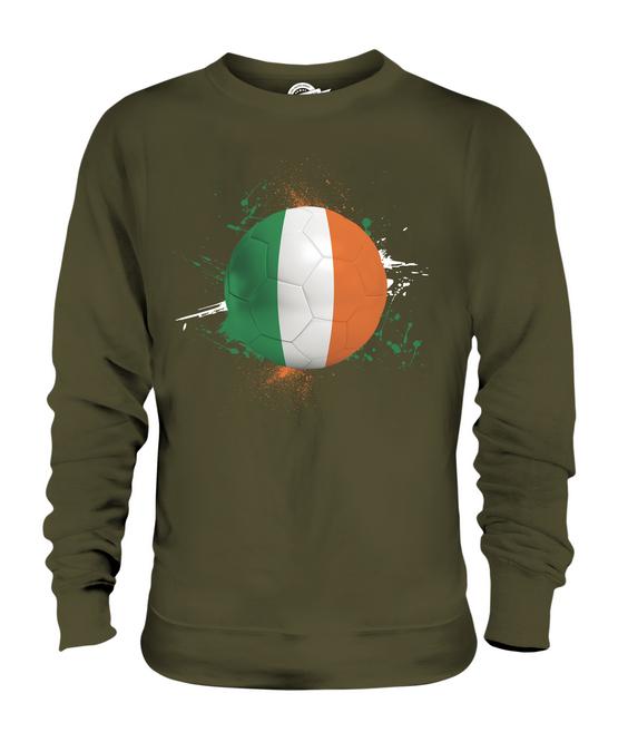 IRELAND FOOTBALL UNISEX SWEATER  WORLD TOP GIFT WORLD  CUP SPORT ee9052