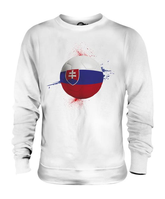 SLOVAKIA FOOTBALL UNISEX SWEATER  TOP GIFT WORLD CUP SPORT