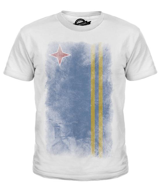 EUROPEAN UNION FADED FLAG KIDS T-SHIRT TEE TOP FOOTBALL GIFT SHIRT CLOTHING